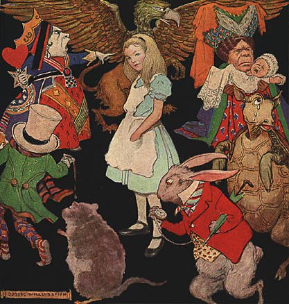characters from alice in wonderland. Alice In Wonderland